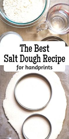 Classic Salt Dough Recipe that is in grammes and oz perfect for rainy day activities and works every time. Salt Dough Recipe Handprint, Best Salt Dough Recipe, Salt Dough Handprints, Salt Dough Crafts, Salt Dough Ornaments, Homemade Ornaments, Salt Doug Recipe, Salt Dough Projects, Christmas Activities