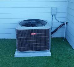 A sweet air conditioner intall by our great crew. All Weather Heating Air & Solar - HVAC SOLAR Vacaville Fairfield Suisun Napa Benicia Solano
