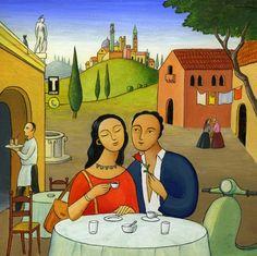 Dining Al Fresco ~ Stefano Vitale