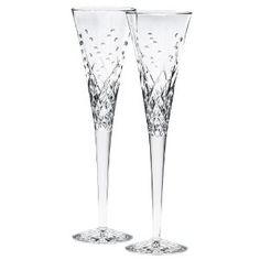 Waterford Happy Celebrations Crystal Flute Glasses, Set of 2 --- http://bizz.mx/lmo