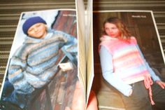 Second Silver - Kertzer Knitting pattern 415 Kids patterns marble pullovers hoodie sz 2-10