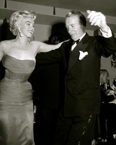 feeling the rhythm with Marilyn Monroe and Clifton Webb – everybody loves to cha chacha