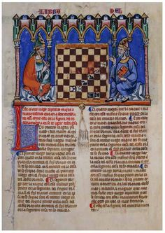 Alfonso X Book of Games. 85f
