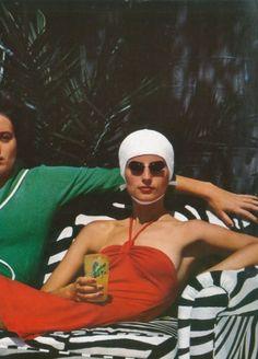 Helmut Newton  pour Vogue Paris Cannes, 1973.