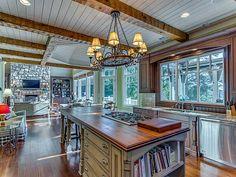 French CountryLake Lanier Estate for sale in Georgia, USA.