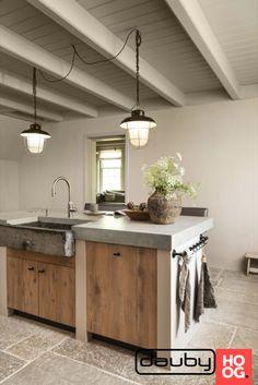 Rustic Kitchen, New Kitchen, Kitchen Decor, Kitchen Furniture, Kitchen Interior, Küchen Design, House Design, Earthy Home, Cocinas Kitchen