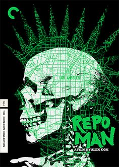 Repo Man  Criterion Collection, Vintage Film Poster