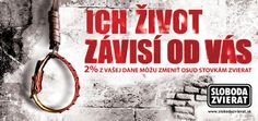 Print Ad for Sloboda Zvierat Print Ads, Print Advertising