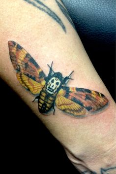 Silence of the Lambs Deathshead Moth tattoo