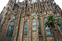 File:Sagrada Família, Basilica and Expiatory Church of the Holy Family (Basílica i Temple Expiatori de la Sagrada Família) ( UNESCO World Heritage Site) as seen from Carrer Provença. Barcelona, Catalonia, Spain.jpg