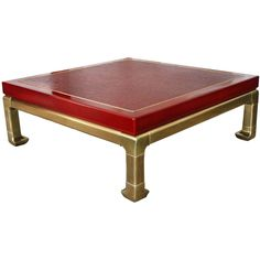 James Mont style, coffee table