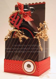 stampin up demonstrator harrisburg such a cute idea, used stampin up sizzix treat boxes...