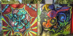 Street art au bord de l'Orge à Savigny-sur-Orge - Pièces en couleur 20150926142