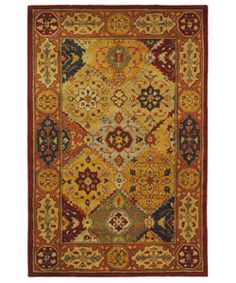 @Overstock - Indulge yourself in the look and feel of brilliance with the Heritage Diamond Bakhtiara design rug collection Area rug made of 100-percent wool pile Floor decor features a traditional motif with beautiful diamond patternshttp://www.overstock.com/Home-Garden/Handmade-Heritage-Diamond-Bakhtiari-Multi-Red-Wool-Rug-4-x-6/2668435/product.html?CID=214117 $88.20