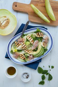 4 λαχταριστές συνταγές με χαλλούμι, για όσους το λατρεύουν - madameginger.com Fresh Rolls, Tuna, Fish, Meat, Ethnic Recipes, Greek, Image, Greek Language