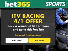 bet365 ITV Horse Racing 4/1 Offer