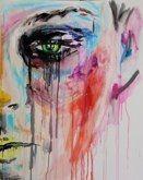 """Shit make-up"", 2012acrylic, canvas 80x100 cm"
