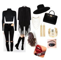 """""""Untitled #16"""" by itzkookie on Polyvore featuring WearAll, Maison Michel, Mulberry, Wet Seal, R.J. Graziano, WithChic, Faith, ASOS, Soaked in Luxury and Fiebiger"""