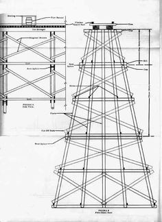 model bridges and trestles | Railroad Line Forums - Trestle bents - every one different - rigs ...