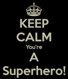 You are a superhero! #quote - brassyapple.com #refashion your life