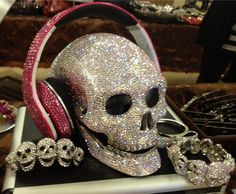 Beats By Dre to the Swarovski skull...