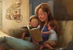 Los ojos de un niño están hambrientos de afectos y experiencias. El amor y el reconocimiento de los padres son las mejores herramientas para educar niños felices, niños libres según los principios de María Montessori.