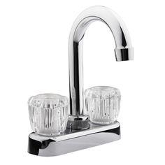 RV Bar Faucet - Clear Knobs