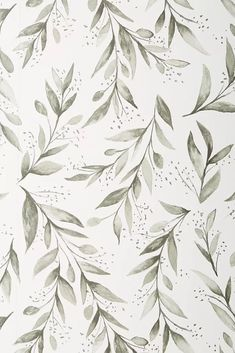 Magnolia Home Olive Branch Wallpaper by in Black, Wall Decor at Anthropologie wallpaper diy engine design top 10 wallpapers how to wall decor anime music im Iphone Background Wallpaper, Aesthetic Iphone Wallpaper, Aesthetic Wallpapers, Floral Wallpaper Iphone, Screen Wallpaper, Aztec Wallpaper, Lines Wallpaper, Botanical Wallpaper, Magnolia Wallpaper
