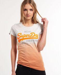 3ca4cc2161 Superdry Vintage Logo Dip Dye T-shirt Hollister, Mindennapi Divat, Pólók,  Női