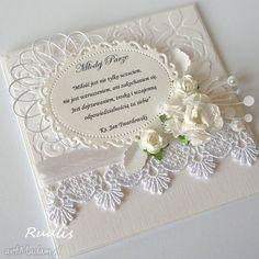 ślubna kartka scrapowa ze zdjęciem - Szukaj w Google