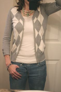 Sweater to Cardigan tutorial. Cause I am a grandma and can't get enough of them apparently...