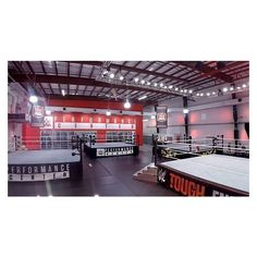 The World's Most Extreme Gym? Behind the Scenes of the WWE Performance... ❤ liked on Polyvore featuring wwe