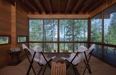 Cabaña en Flathead Lake / Andersson Wise Architects (14)