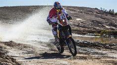 Kurt Caselli won his first international rally in Argentina.
