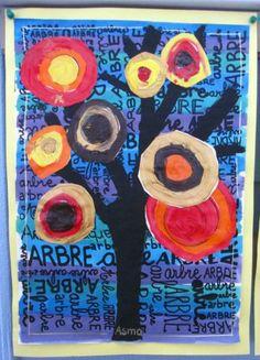 Arbre d'automne - Arbres - Galerie - Forums-enseignants-du-primaire
