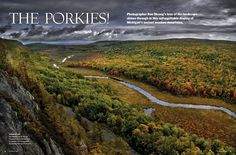 Quick Links to Plan Your Trip to the Porcupine Mountains - My North - October 2009 - Northern Michigan