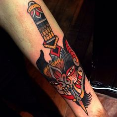 12 Dark Traditional Bat Tattoos