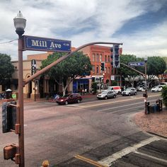Mill Ave. Tempe, Arizona ...Drank a few beers here back in the day!