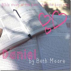 Beth Moore's Bible study on Daniel