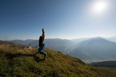 Keep Fit, Yoga Fitness, Gymnastics, Places To Go, Exercise, Mountains, Travel, Stay Fit, Fitness