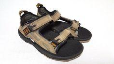 Teva S/N 6232 Boy's Sandal Shoes Brown Leather Sport Sz US 6 UK 5 EU 36 Jap 225 #Teva #SportSandals