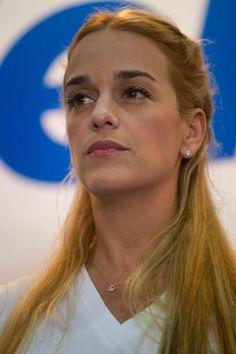 Esposa de Leopoldo López denuncia abuso em cadeia (foto: EPA)