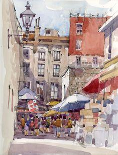 shari blaukopf paintings | Shari Blaukopf | The Sketchbook | Page 4
