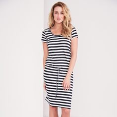 Draw-String Linen Dress   The White Company