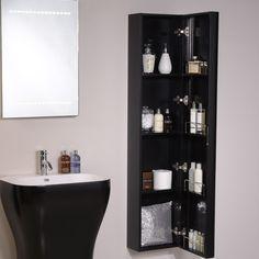 Eclipse Wall Mounted Storage Unit Tall Bathroom Cabinetsbathroom Furniture Small