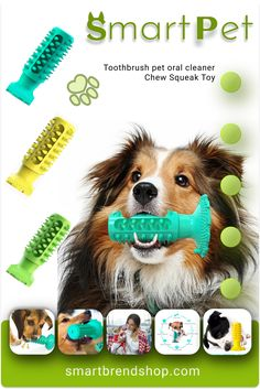 cleans your pet's teeth well Puppy Chew Toys, Dog Toys, Large Dogs, Small Dogs, Dog Supplies, Blue Yellow, Dogs And Puppies, Your Pet