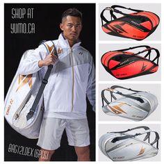 Yonex Badminton Bag, Badminton Sport, Dan Lin, Sport Casual, Rackets, Sports, Leather, Hs Sports, Excercise