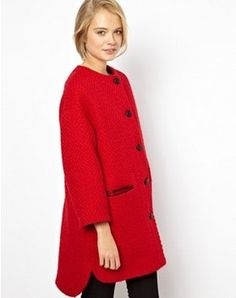 Pin for Later: 20 Manteaux à Shopper Avant Qu'il Ne Soient Plus en Stock  Asos Manteau Sans Col (121€, soldé 41€)