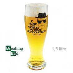 Verre à Bière Géant Breaking Bad : Kas Design, Distributeur de Produits Breaking Bad