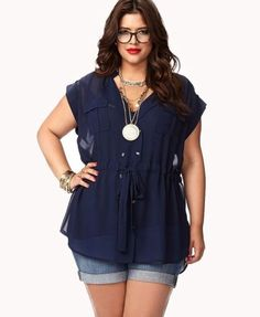 f21b927e401f8 Summer casual work outfits ideas for plus size 35 Plus Size Summer Clothes
